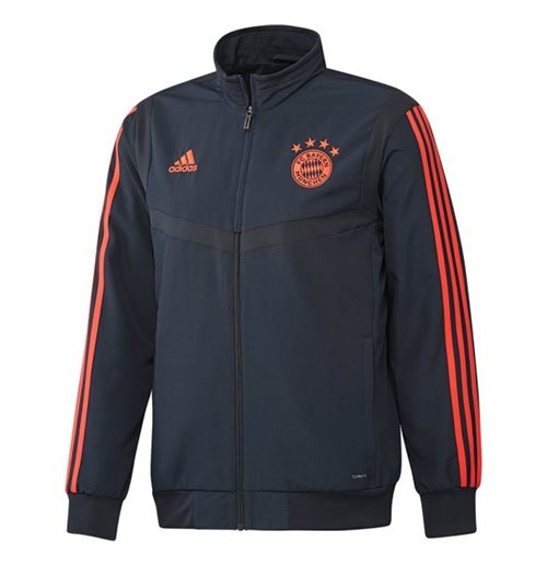 2019-2020 Bayern Munich Adidas EU Presentation Jacket (Navy)