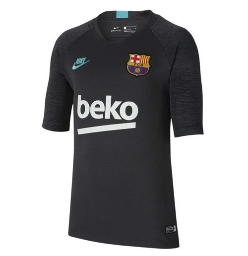 2019-2020 Barcelona Nike Training Shirt (Cool Grey) - Kids