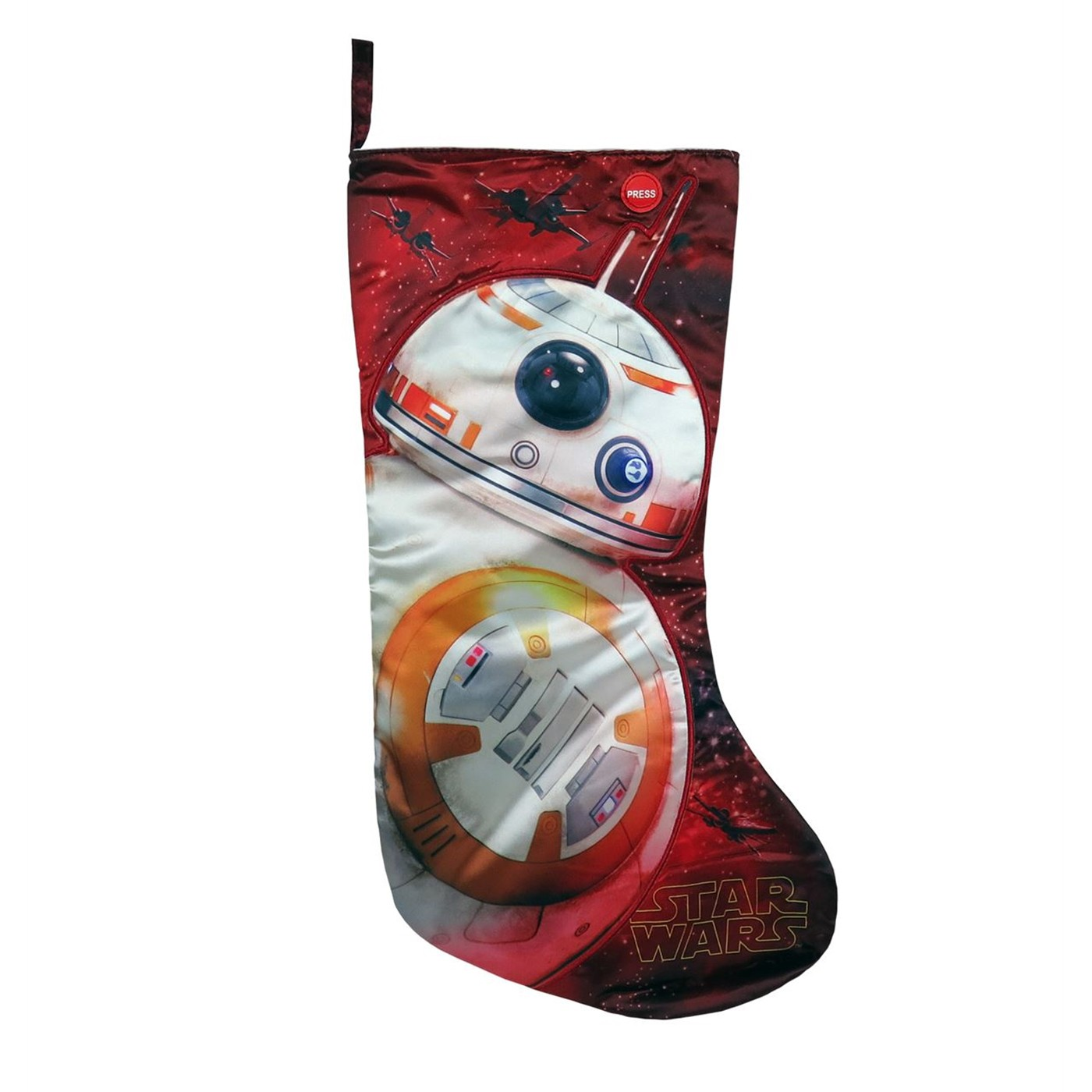 Star Wars BB-8 Sound Effects Christmas Stocking