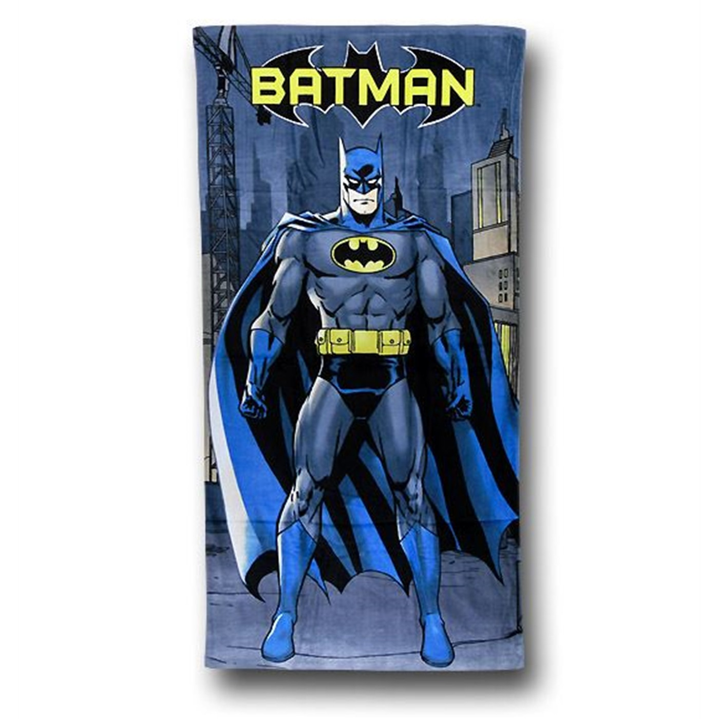 Batman Standing Beach Towel