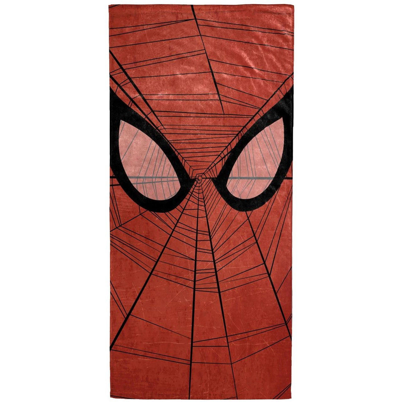 Spider-Man Face Beach Towel