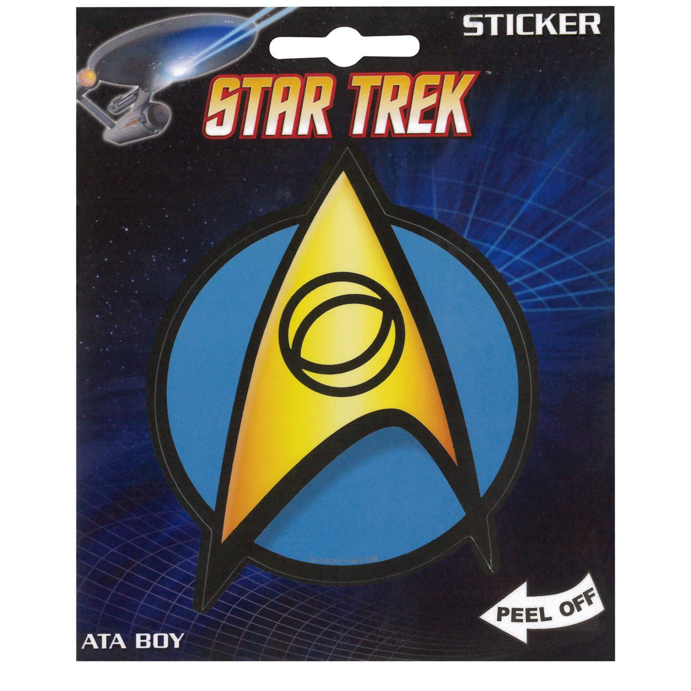 Star Trek Science Sticker