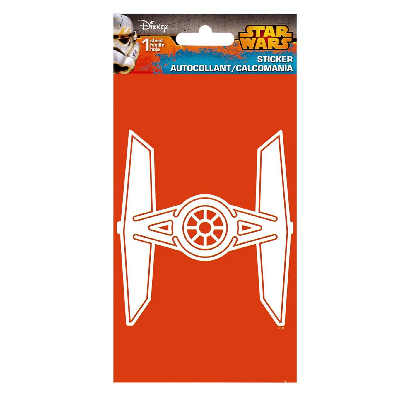 Star Wars TIE Fighter Sticker
