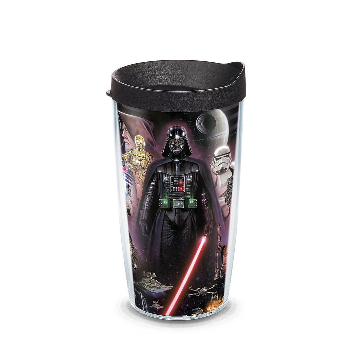 Star Wars Collage Wrap Tumbler With Travel Lid 16 oz Tervis®