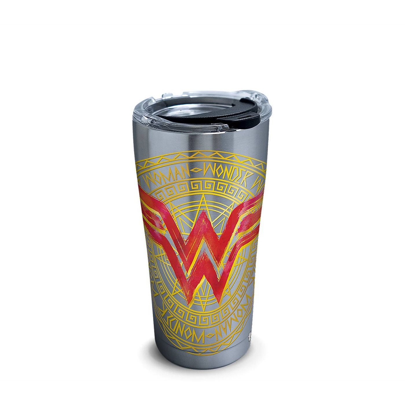 Wonder Woman Icon Stainless Steel Tumbler With Hammer Lid 20 oz Tervis® Tumbler