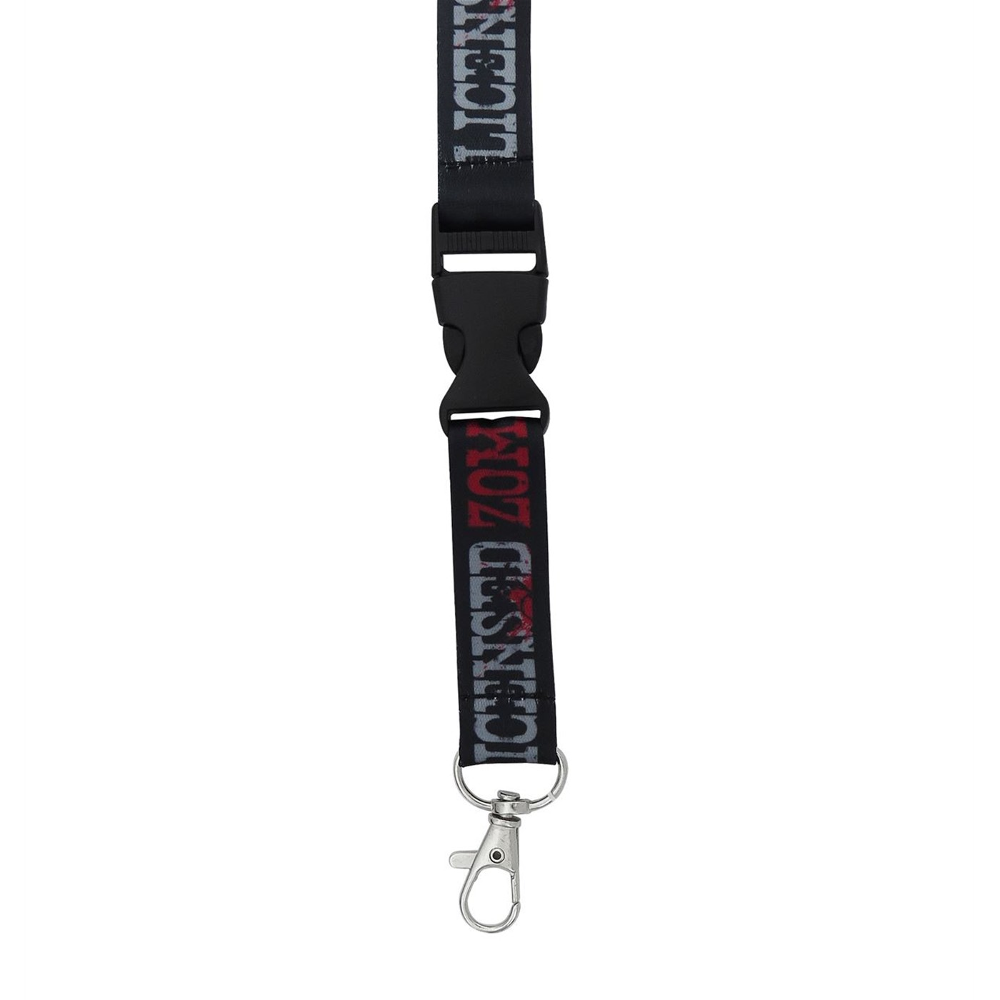 Walking Dead Zombie Hunter Lanyard