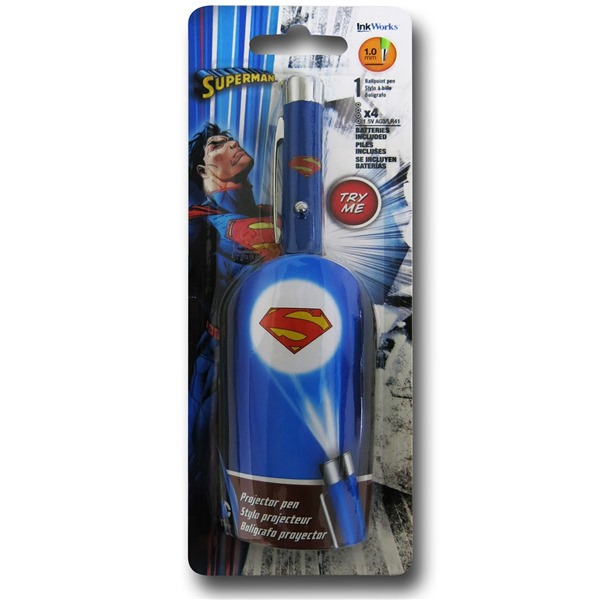 Superman Symbol Projector Pen