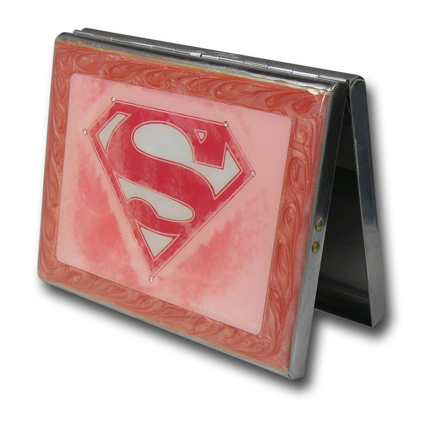 Supergirl Symbol Metal Tin Box