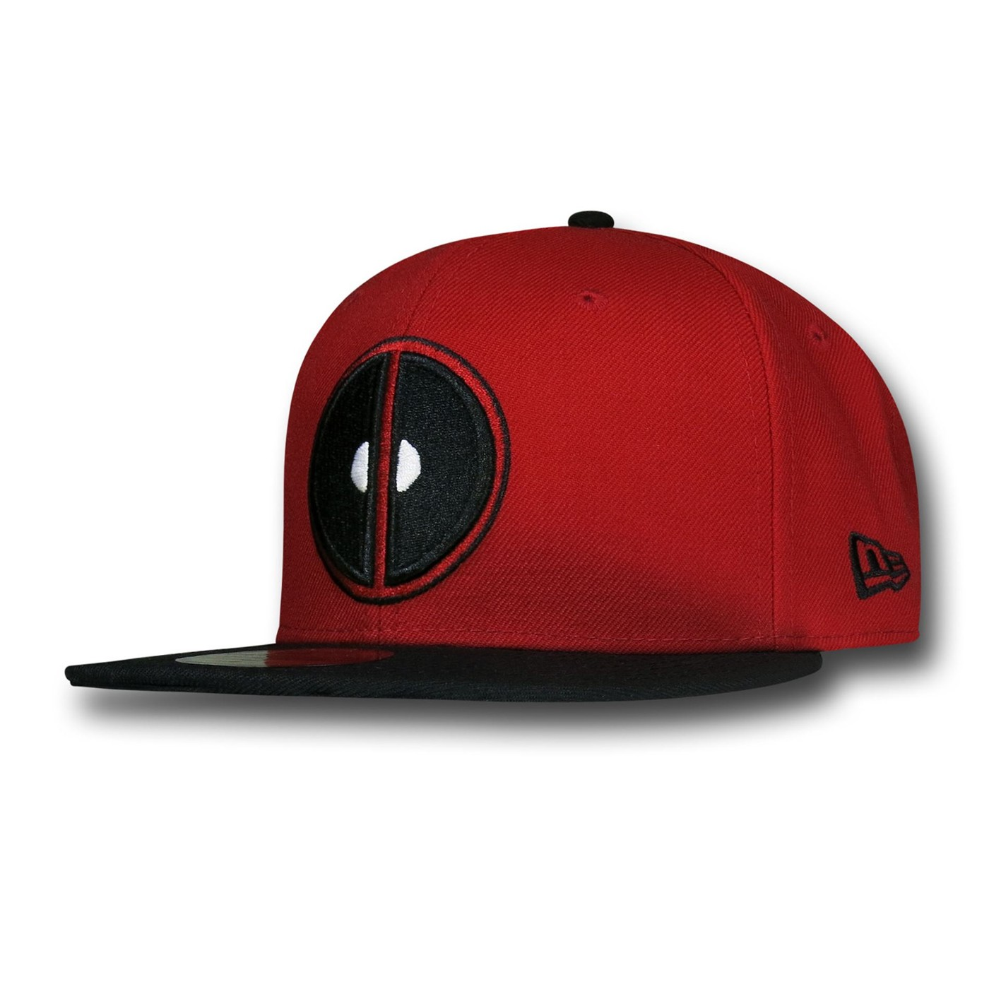 Deadpool Symbol Red  and  Black 59Fifty Cap