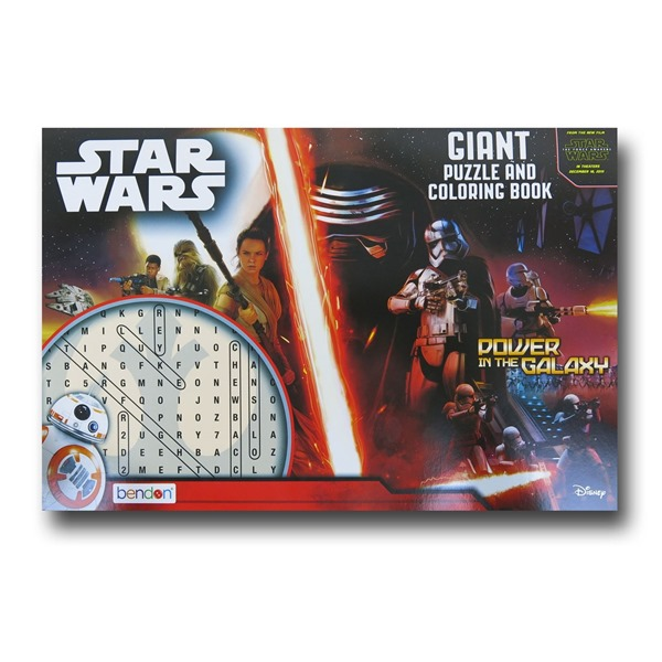 Star Wars Force Awakens Puzzle and Coloring Book