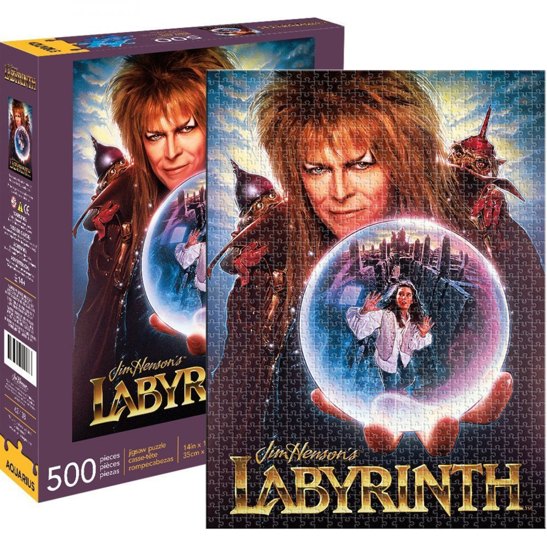 Labyrinth 500 Piece Puzzle