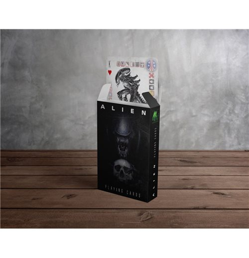 Alien Playing Cards