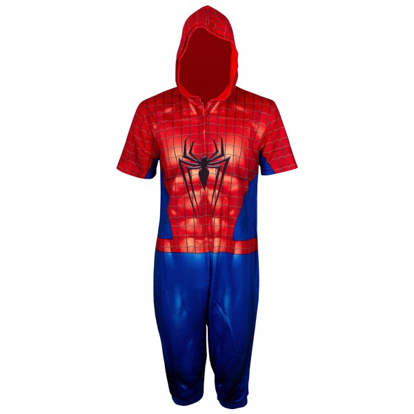 Spider-Man Cropped Union Suit