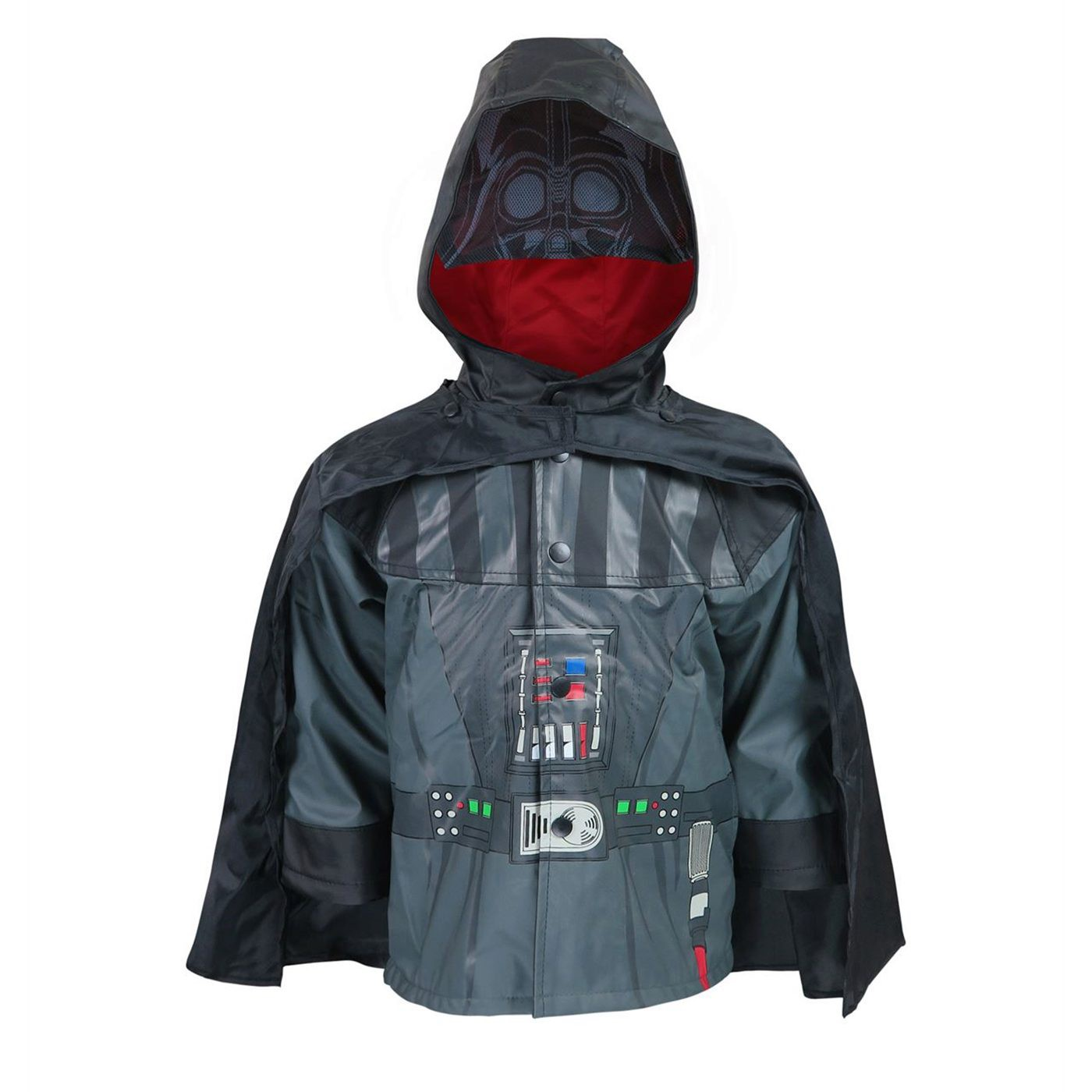 Star Wars Darth Vader Kids Rain Coat