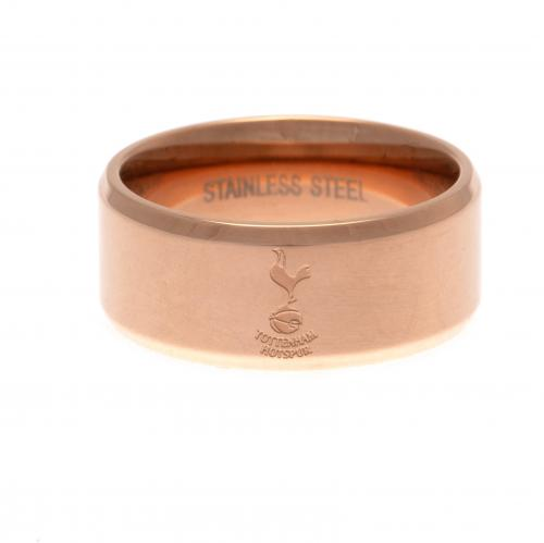 Tottenham Hotspur F.C. Rose Gold Plated Ring Medium