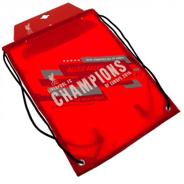 Liverpool F.C. Champions of Europe Gym Bag