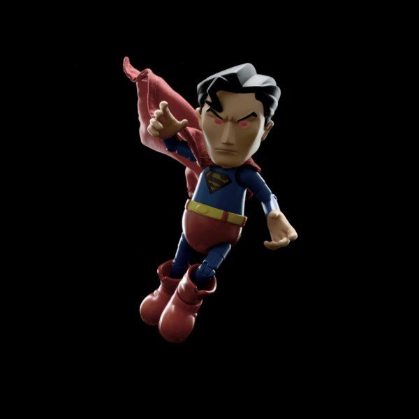 Superman Hybrid Metal Af Action Figure