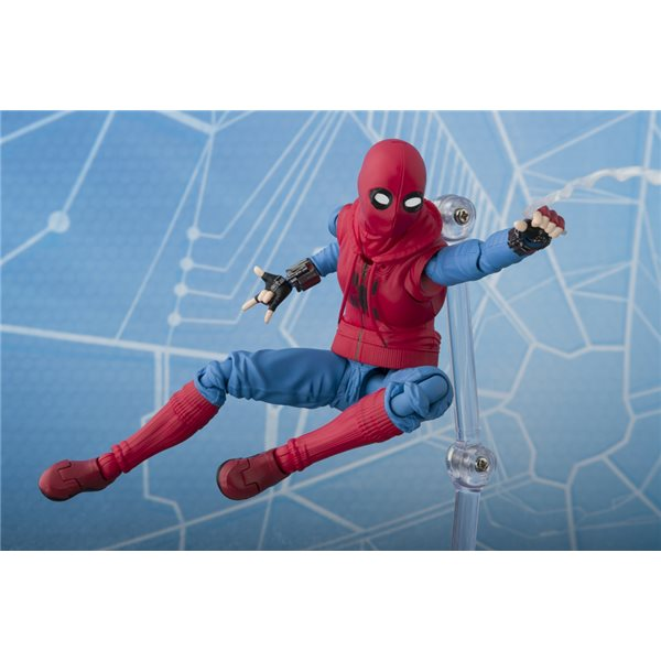 SPIDER-MAN Home Suit + Wall Sh Figuarts Action Figure