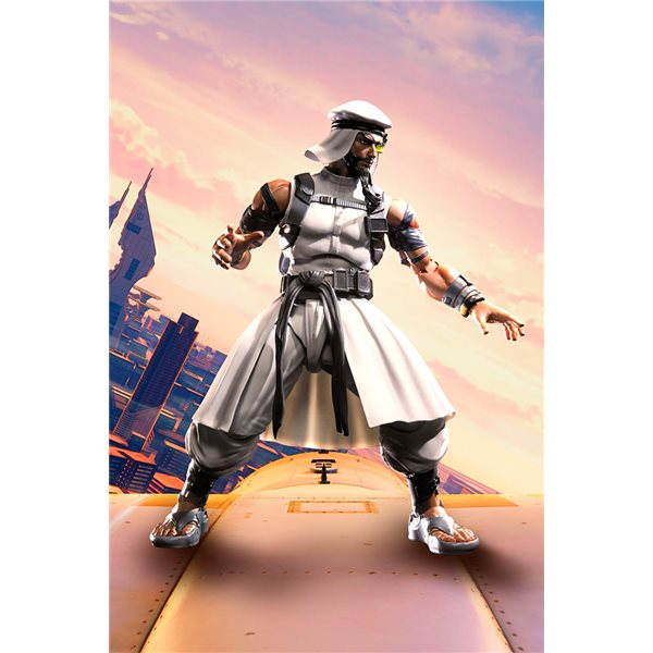 Street Fighter 5 Rashild Figuarts Action Figure