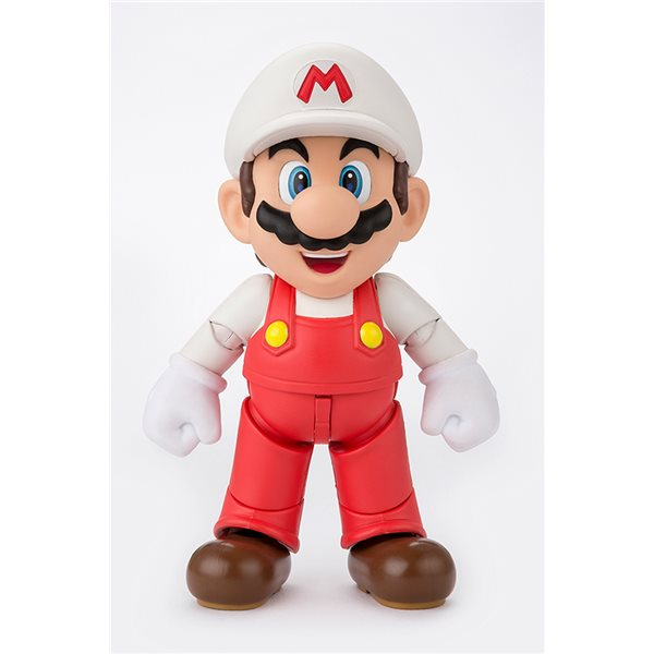 Super Mario Fire Mario Figuarts Action Figure