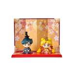 Petit Chara Sailor Moon USAGI&MAMORU Set Mini Figure