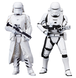 Sw Ep Vii First Ord Snow TROOPER&FLAME Statue