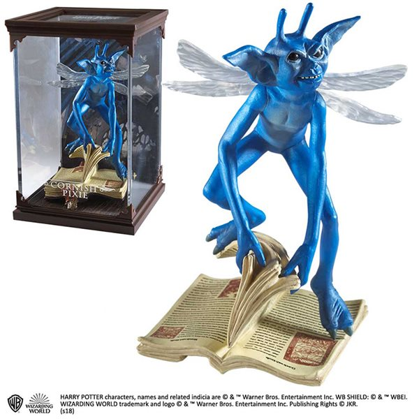 Hp Magical Creatures No 15 Cornish Pixie Statue