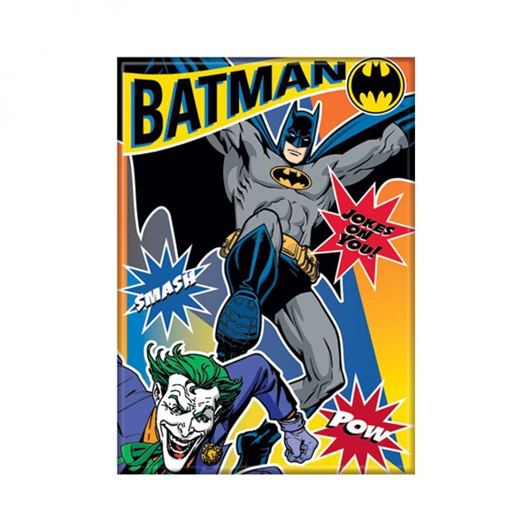 Batman and Joker The Joke's on You Magnet