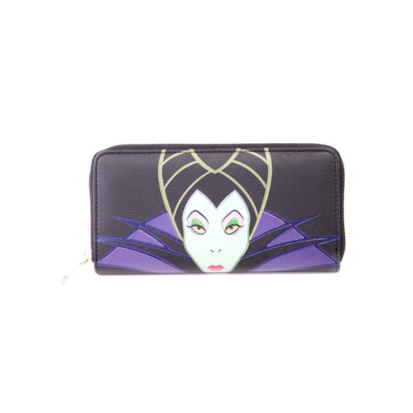 Disney - Maleficient 2 -  Ladies Patched Zip Around Wallet
