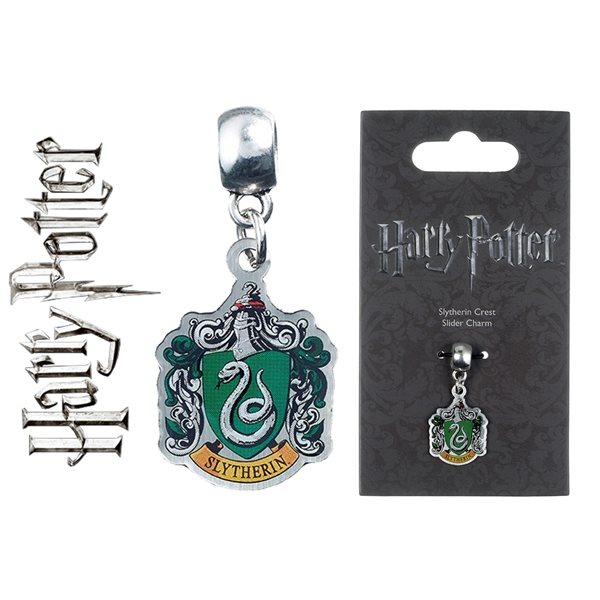 Hp Slytherin Slider Charm Pendant