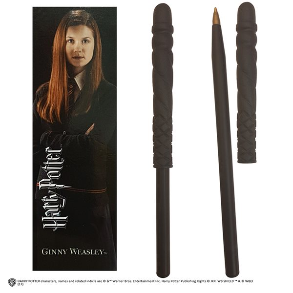 Hp Ginny Wand Pen And Bookmark