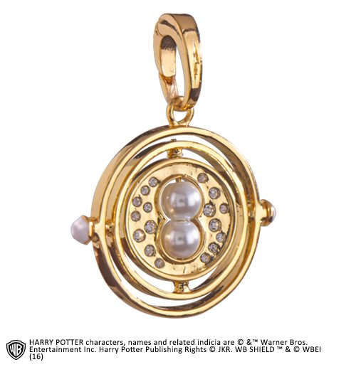 Hp Lumos Charm 4 Time Turner Pendant