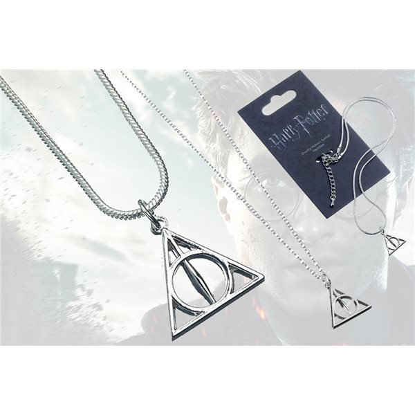 Hp Deathly Hallows Necklace