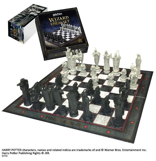 Hp Wizard Chess Set Chessboard