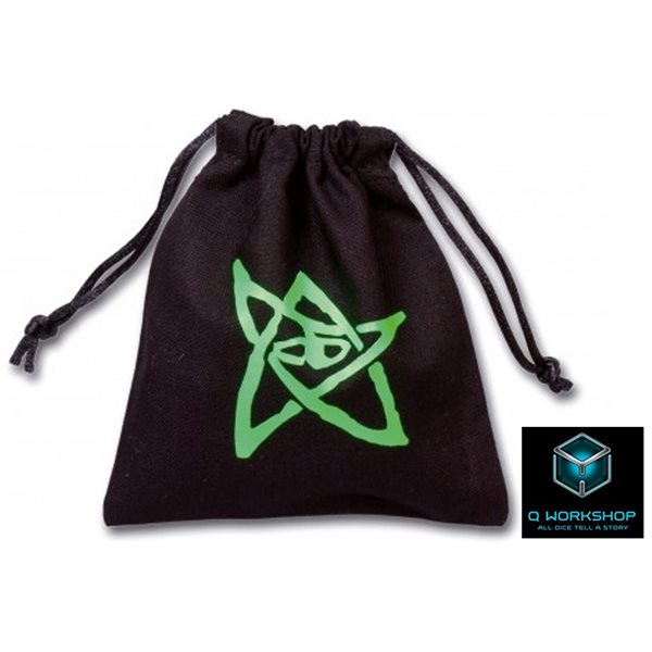 Cthulhu Logo Black Dice Bag Accessories