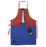 Bttf Marty Apron And Oven Mitt Set Kitchen Accessories