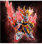 Sd Sangoku Sokets Zhang Fei Gundam God Model Kit