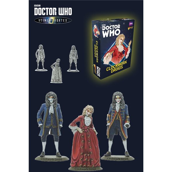 Doctor Who Clockwork Droids Board Game