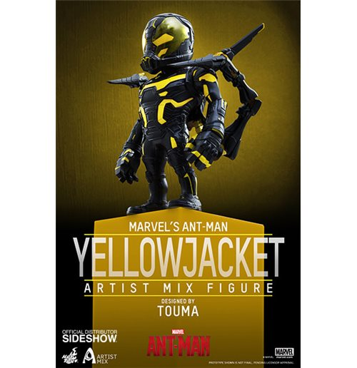 ANT-MAN Artist Mix Yellowjacket Coll Fig Figure