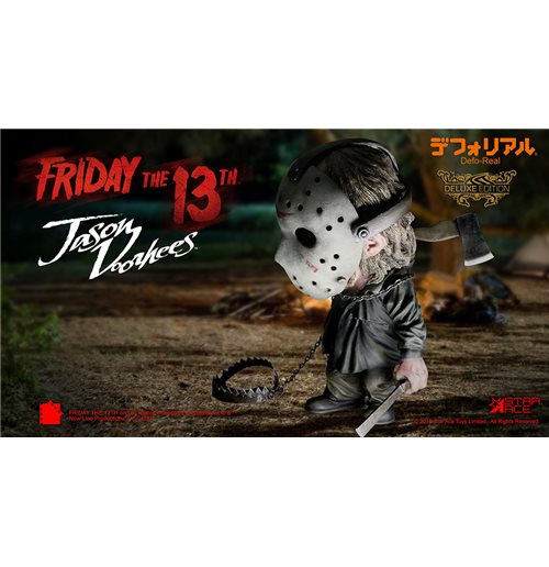 Friday 13TH Jason Deformed Dlx Figure