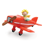 Little Prince In His Plane Figure