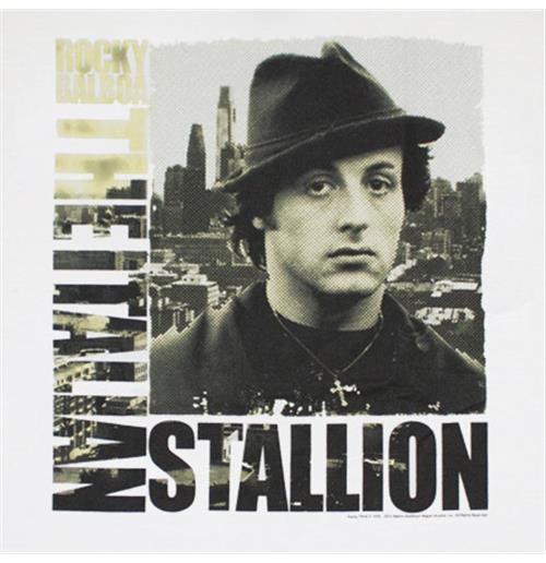 Buy Official Rocky Balboa Italian Stallion City Tee Shirt