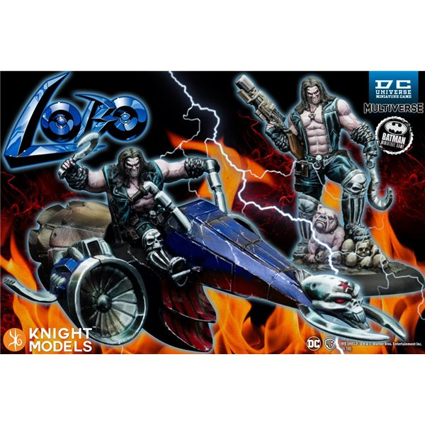 Bmg Dcumg Lobo & Lobo On Bike Wargame