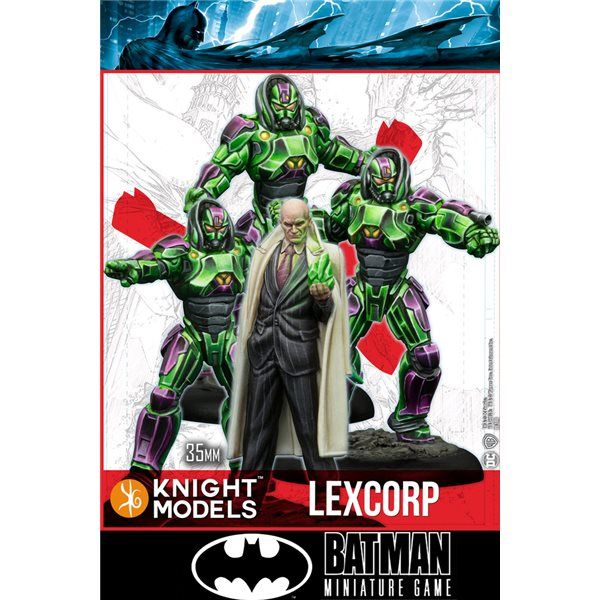 Bmg Lex Luthor & Lexcorp Troopers Wargame