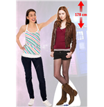 Doctor Who Amy Pond Cutout Lifesize Silhouette