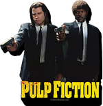 Pulp Fiction Duo Guns Magnet Magnets