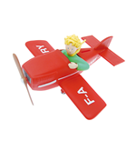 Little Prince In His Plane Bank Money Box