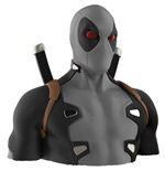 Deadpool X-FORCE Deluxe Bust Bank Money Box