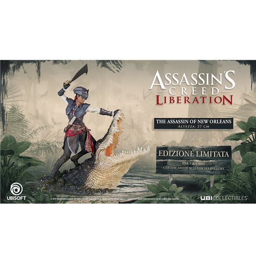 Assassins Creed Liberation Aveline St Statue