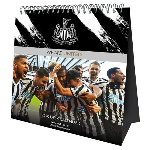 Newcastle United F.C. Desktop Calendar 2020